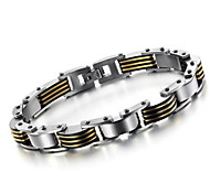 Z&X®  Men's Fashion Personality Between The Gold Bracelet