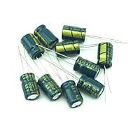 электролитические конденсаторы 190 шт