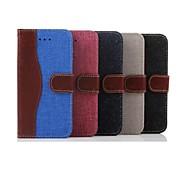 iphone 7 plus de 5,5 pouces étui en cuir de portefeuille de style cow-boy avec dragonne pour iphone 6s 6 plus