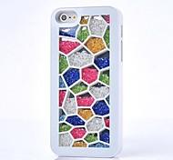 Luxus Strass bunte Hülle für iPhone 4 / 4S (verschiedene Farben)