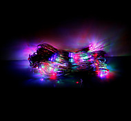 1.5x1.5M 96 LEDs Christmas Halloween decorative lights festive strip lights-Net Lights RGB (220V)