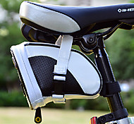 INBIKE Black&White Fluorescence PU MTB Hard Shell Saddle Bag