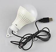 angibabe® dc-6v mini-usb conduziu altíssima potência energética recarregável lâmpada de poupança