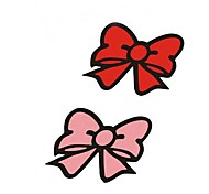 Lovely Bowknot Adornment Car Stickers