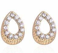 Women New Arrival Fashion Hot Sale Lovely Water Shape Stud Earring