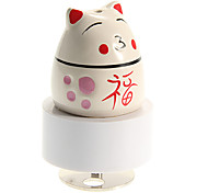 Japan Fortune Cat Pattern Revolving Music Box Toys