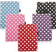 Stylish Polka Dots PU Leather Protective Case with Stand Function for Amazon Kindle Fire HDX 7 (Assorted Colors)