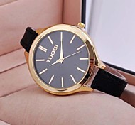 Women's Fashion Joker Simple Quartz Big Dial Strap Watches Cool Watches Unique Watches