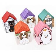 Paper Doghouse Design Self-Stick Note(Random Color)