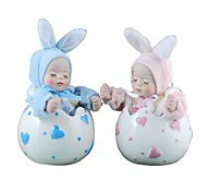 Rocking Rabbit Doll,8 Sound Music Box (Random Colour)