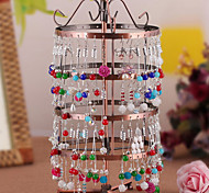 Classic Korean Four Floor Stand Multicolor Alloy Jewelry Displays(1 Pc)(More Color)