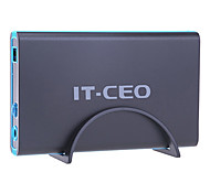 it-ceo f8 3,5 pollici sata usb 3.0 caso del disco rigido