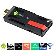 Quad Core Android Mini PC TV Cloud Stick   MK809IV