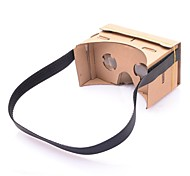 NEJE DIY Google Cardboard Virtual Reality 3D Glasses with Head Mount for 4-7 Inch Mobile Phone