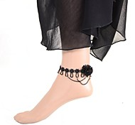 Simple Flower Ethnic Style Anklet