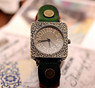 Women's Fashion Vintage Cow Leather Watches(Assorted Colors)