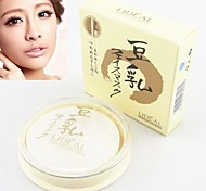 LIDEAL®Soybean Whitening Makeup 4in1 Pressed Powder Cake/Concealer/Foundation/Bronzer(Powder Puff in,Assorted 3 Color)