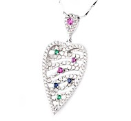 I FREE®Valentine's Day Gift S925 Silver Superior Quality Pendant Necklace 1 pc (Include The Necklace)