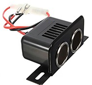 Motorcycle Car Modified Double Power Supply Cigarette Lighter Socket