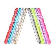 Gen Transparent Blue Glow Shock Resistant Hybrid Cover for iPhone 6(Assorted Color)