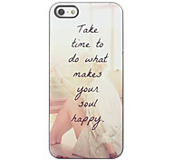 Make You Soul Happy Design Aluminium Hard Case for iPhone 4/4S