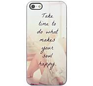 Make You Soul Happy Design Aluminium Hard Case for iPhone 4/4S