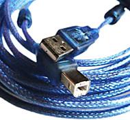10m 32.8ft USB 2.0 A macho a USB 2.0 b cable masculino para el envío libre mp3 mp4