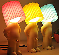 2PCS Shy Boy Design Warm White LED Table Lamp (Assorted Colors)