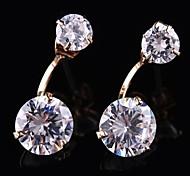 nobres brilhantes brincos de diamante (mais cores)