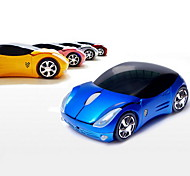 2.4GHz Wireless Super Car Pattern Optical Mouse (Assorted Colors)