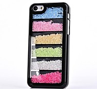 LUXURY Rhinestone Colorful Back Cover Case for iPhone 5C