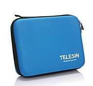 TELESIN -Protective EVA Camera Bag for GoPro HD Hero3+ / 3 / 2 - Blue (Medium Size)