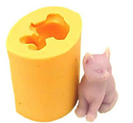 Cat Baking Fondant Cake Chocolate Candy Mold,L4.2cm*W3.4cm*H4.9cm