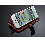 haltbarer Fall für iPhone 5 / 5s, edel pu Ledertasche für iPhone 5 5s, Lederhülle für das iPhone 5s, Handytasche
