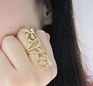 Shixin® Classic Hollow Out Flower Pattern Statement Ring(1 Pc)