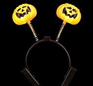 forniture di halloween ha portato luminescenza zucca fascia