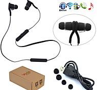 auscultadores Bluetooth v3.0 + no canal do ouvido esporte wireless fones de ouvido fone de ouvido estéreo para iphone edr 6 iphone 6 mais