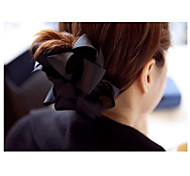 Sweet Silk Fabric Bowknot Hair Claws Random Color