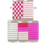 casebox® einfaches Design mit Diamant-Rückseite für das iPhone 4 / 4s (verschiedene Farben)