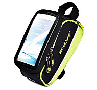Bike Frame Bag / Cell Phone Bag Cycling/Bike For Quick Dry / Rain-Proof / Dust Proof / Shockproof / Wearable / Touch Screen , Green ,600D