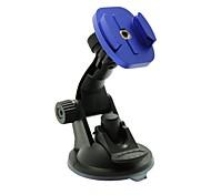 egamble fotocamera ventosa supporto del basamento di plastica con treppiede in alluminio per GoPro HD Hero 2/3/3 +