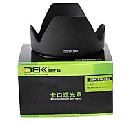 DBK visera del objetivo ew78d para Canon EF 28-200 mm 18-200 mm f / 3,5-5,6