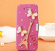Hand Made Tower Diamond Leather Full Body Case with Magnetic Snap for SAMSUNG GALAXY S3 I9300(Assorted Colors)