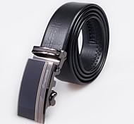 classica cintura in pelle fibbia automatica degli uomini omgoma® di