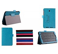 7 Inch PU Leather Case with Stand Holder for ASUS  MEMO pad 7 ME176C (Assorted Colors)