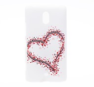 Kinston Big and Small Hearts Pattern Plastic Hard Case for Nokia Lumia 1320