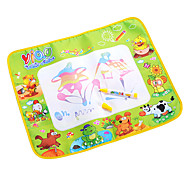 48*58*2cm Kids' Aquadoodle Water Drawing Board Magic Pen Novelty Toys with Paintings of Animal(Box Package)