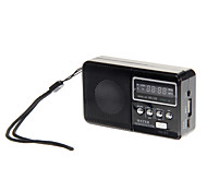 WS-239 Support Mobile Charging Function High Sensitive FM Stereo Radio Speaker