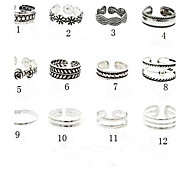 European Vintage  Alloy Toe Rings(More Color)(1 Pc)