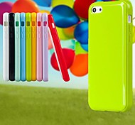 CaseBox® Candy Colorful Silicone Back Case for iPhone 4/4S (Assorted Color)